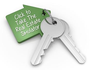 Click to Take The Real Estate Simulator!